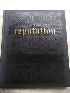 TAYLOR SWIFT Official Reputation Tour Limited Edition Hardcover Book
