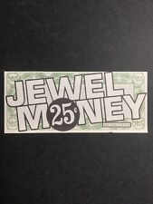 25¢ Jewel Money - Jewel Home Shopping Service (Antique)
