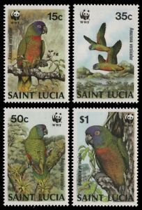 St. Lucia 1987 - Mi-Nr. 909-912 ** - MNH - Vögel / Birds
