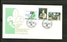 SCOUT -CYPRUS 1982, FDC, VERY RARE!