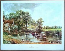 John Constable The Hay Wain 1st Printing Out of Print Ltd. Ed Orig 1960 Litho