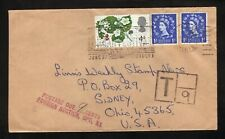 St Albans, Herfortshire, England--1967 Organ Festival Slogan Cancel--Postage Due