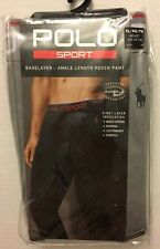 Polo Sport Baselayer Ankle Length Pouch Pant Thermatrix Brand New NWT Grey XL