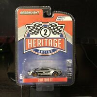 Greenlight   1:64 Ford Racing Heritage Series 2 - 2017 Ford GT   Brand New