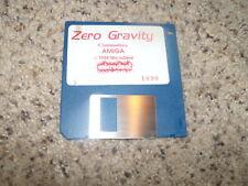 "Zero Gravity for the Commodore Amiga on 3.5"" floppy disk (1988)"