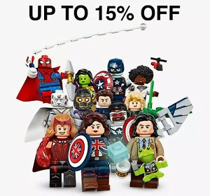 Lego Marvel Studios Minifigures 71031 | Pick Your Figure! | UP TO 15% OFF