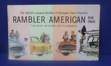 1960 Rambler American Brochure folds out to poster 18 x20