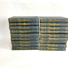 Near Complete Set of 18 Vol 1912 Book of Knowledge The Children's Encyclopedia