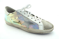 d472ffa1a908 New GOLDEN GOOSE SUPERSTAR Size 10 IRIDESCENT CRYSTAL Sneakers Shoes 41