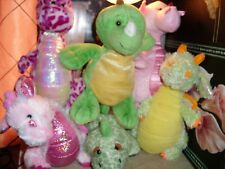 GANZ WEBKINZ WHIMSY KEY LIME GLITZY SPOTTY CITRUS STEGOSAURUS DRAGON NO CODES