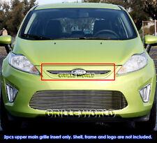 Fits 2011-2012 Ford Fiesta Billet Main Upper Grille Insert