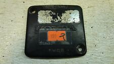 1981 Honda CX500 CX 500 H855' fuse panel cover trim plate #2