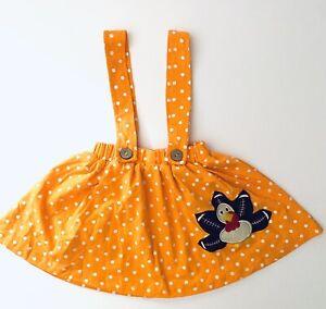Baby Girls Boutique Thanksgiving Turkey Football Jumper Orange Fall Size 12-18 M
