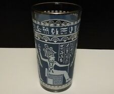 "Egyptian Hieroglyphs Collectible Drinking Glass ~5"" Glass"