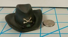 Bbk Civil War Rebel Cavalry Hat 1/6 Toys Dragon GI Joe CSA Cowboy Western redman