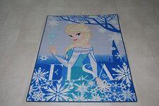 Quality Disney Frozen Rug Elsa Play Mat Rug 133cm x 95cm Non Slip Girls Bedroom