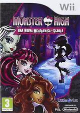 Wii Monster High Mostramica Scuola Namco Garanzia ITA