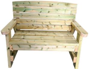 Heavy duty Wooden Garden Bench