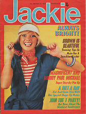Jackie Magazine 21 May 1977 No.698   Paul Michael Glaser  Leo Sayer  Racing Cars