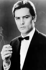 Alain Delon 11x17 Mini Poster Suave Portrait In Tuxedo Holding Smoking Cigarette