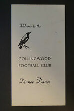 Collingwood - Vintage Collectable - Dinner Dance Welcome with All VFL Club Songs