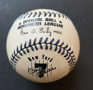 Mickey Mantle Official Mlb Commemorative #7 A.L Baseball Yankees Hof