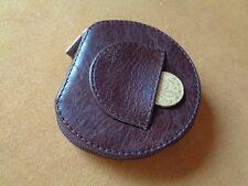 PORTAMONETE TACCO IN VERA PELLE MADE IN ITALY BY LE CUSTODIE MONEY PURSE 81MARR
