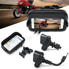 NEW Waterproof Motorcycle Bike Bicycle Handlebar Mount Phone GPS Holder Case Bag