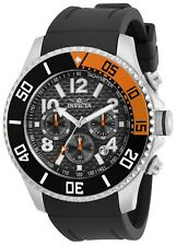 Invicta Men's Pro Diver 30708 48mm Black Dial Silicone Chronograph Watch