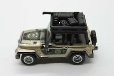 Matchbox Globe Travelers - LOOSE Jeep Wrangler with Rubber Tires