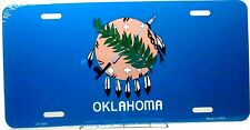 Oklahoma State license plate New aluminum auto tag sublimation state emblem 3597