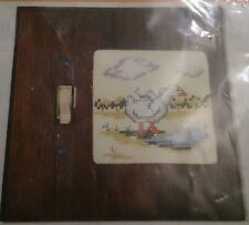 Spring Shower Duck 800 Stitchplate Cover Needles Hoops Counted Cross Stitch Kit