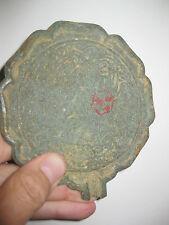 Authentic Antique Chinese bronze mirror with 2 phoenix birds, 200g = 8 oz
