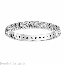 PLATINUM WEDDING OR ANNIVERSARY ETERNITY DIAMOND BAND STACKABLE 0.70 CARAT
