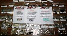 1984 FORD MUSTANG HATCHBACK INTERIOR & EXTERIOR SCREW KIT        91pcs.
