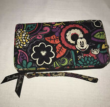 Disney ~ Vera Bradley ~ Mickey & Minnie Mouse ~ Magical Blooms Wallet Pre-owned