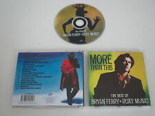 BRYAN FERRY+ROXY MUSIC/MORE THAN THIS - THE BEST OF(VIRGIN CDV2791) CD ALBUM