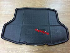 BLACK Car Interior Rear Trunk Mat For Honda Civic 10th Gen 4dr Sedan 2016 2017