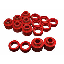 Energy Suspension Body Cab Mount Set Red for 88-99 GMC C1500 # 3.4122R