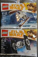 (2) Lego Star Wars 30381 Imperial Tie Fighter, 30498 Imperial At-Hauler ~ New!