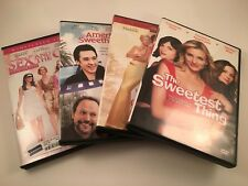 Lot Romantic Comedy Dvd: Sweetest Thing, Lose a Guy, Sex & City, Americas Sweet