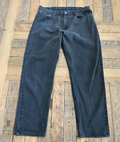 Polo Ralph Lauren Men relaxed Fit Black Wash  Jeans 40W 34L Black