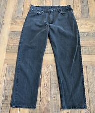Polo Ralph Lauren Men relaxed Fit Black Wash  Jeans 40W 34L Black