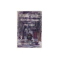 Le DIABLE à L'HOTEL ou les PLAISIRS IMAGINAIRES par Émile HENRIOT Ex-libris 1946