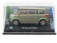 Cararama Hongwell Diecast VW Volkswagen Microbus 2001 Green  1 72 Scale Boxed