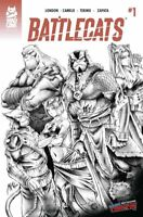 BATTLECATS #1 NYCC 2019 EXCLUSIVE B&W VARIANT NM ONLY 50 MADE MAD CAVE STUDIOS