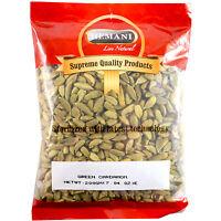 Hemani 100% Natural Fresh Green Cardamom Whole Pods Jumbo 200g / 7oz *USA*