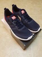 NWT Adidas DB1456 Men's Element Race Blue Red Sneakers Shoes Sz 8,9,9.5,10