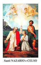 "OLD nice rare Holy cards ""H7438"" san nazaro e celso"
