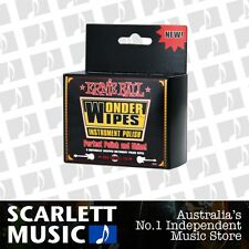 Ernie Ball 6 Pack Wonder Wipes Instrument Polish *BRAND NEW*